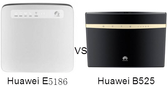 Which One is Better, Huawei B525 or Huawei E5186? - Khmer
