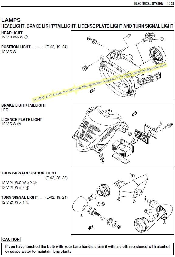 Auto Moto Repair Manuals  Suzuki Vzr1800k6 Intruder