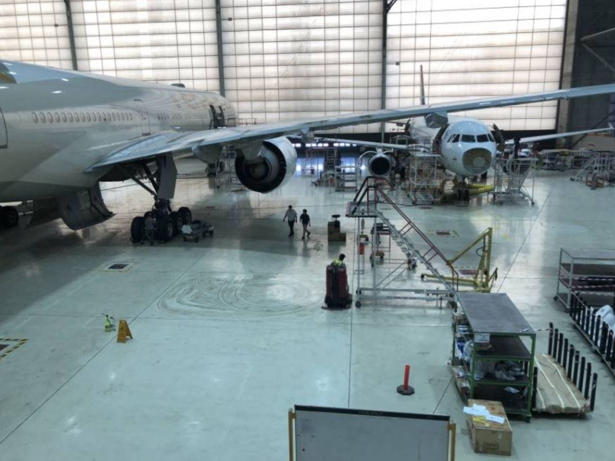 """""""الاتحاد الهندسية"""" تقدم خدمات صيانة لـ 300 طائرة سنوياً"""