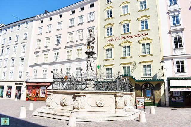 Plaza Alter Markt en Salzburg, Austria