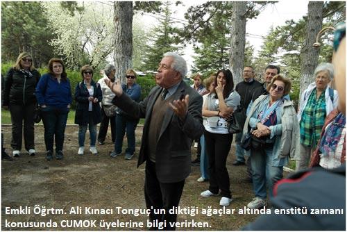 Hasanoğlan Köy Enstitüsünde Köy Enstitülerini anma şöleni