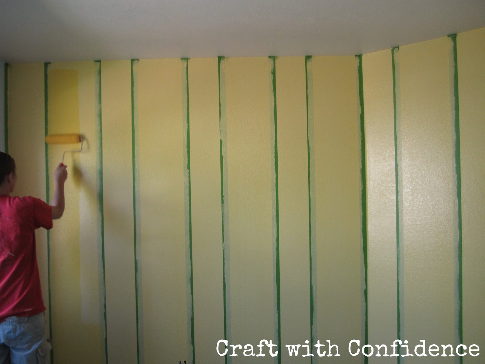 Yellow Painted Rooms