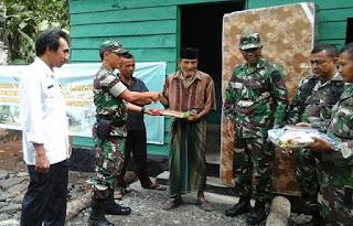 TNI Serahkan Rumah Lansia Untuk Tingkatkan Taraf Hidup Rakyat