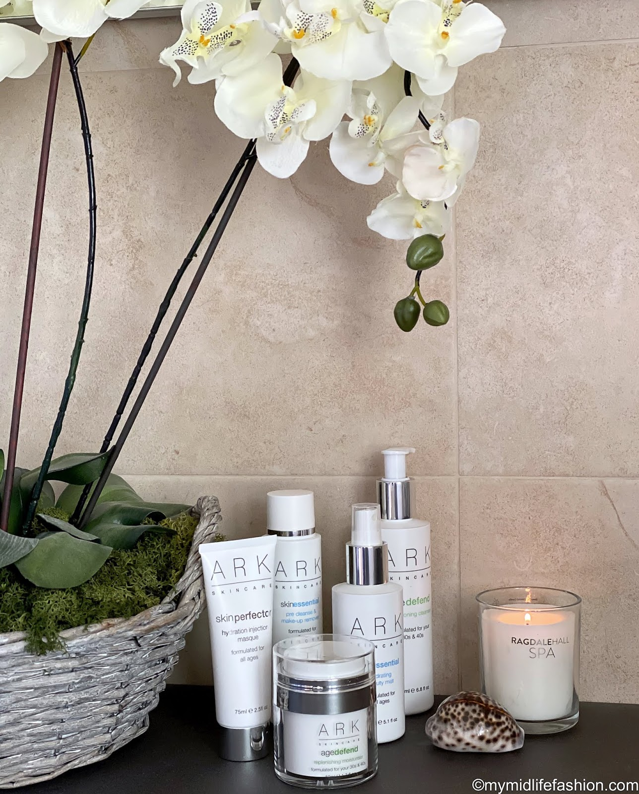 my midlife fashion, ark skincare, ark skincare hydration injection masque, ark skincare pre cleanse and make up remover, ark skincare conditioning cleanser, ark skincare hydrating beauty mist, ark skincare replenishing moisturiser