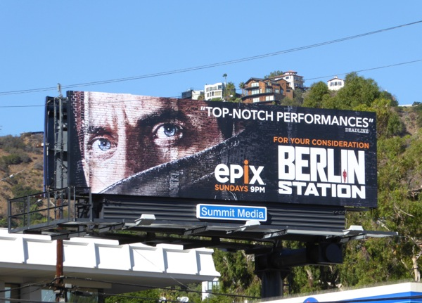 Berlin Station season 1 FYC billboard