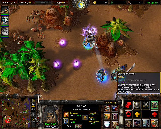 Shield of Honor Screenshot    The Founding of Durotar   Warcraft 3: The Frozen Throne