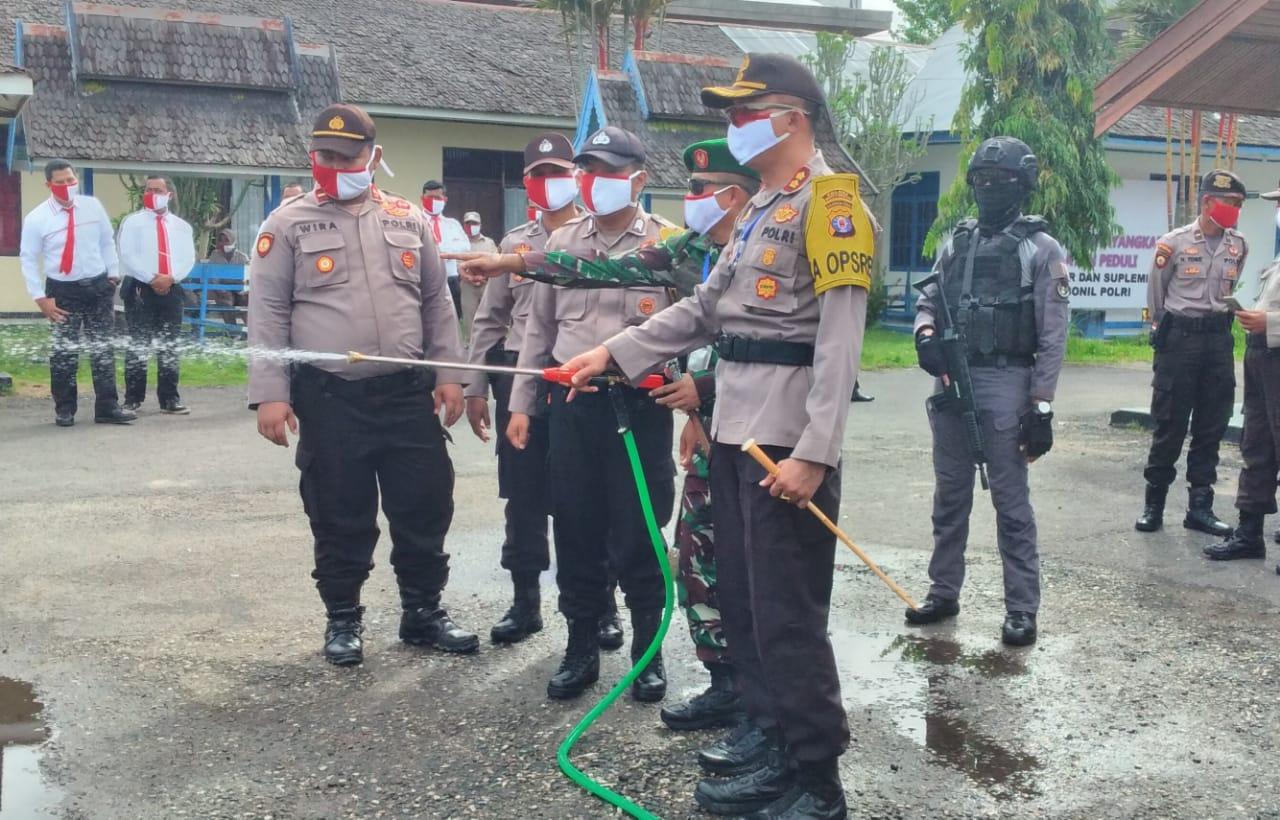 TNI - Polri Gelar Apel Siaga Karhutla