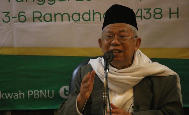 Kiai Ma'ruf Amin: Islam Moderat Harus Terus Digelorakan