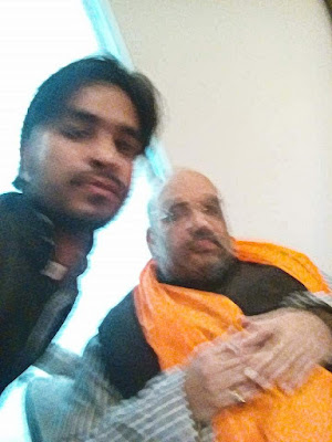 With amit shah ji