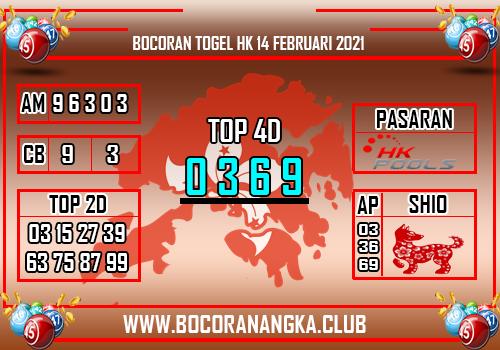 Bocoran Togel HK 14 Februari 2021
