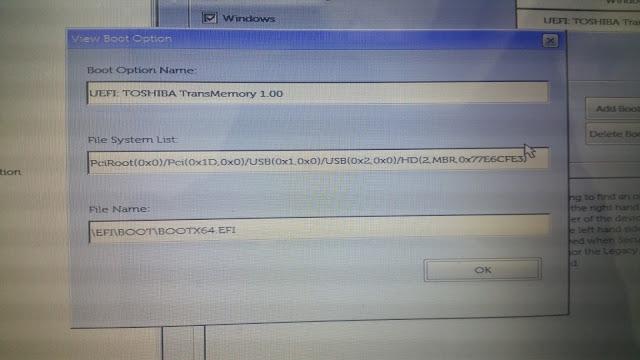 kali linux mode uefi