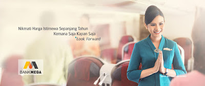 Harga Istimewa Sepanjang Tahun - Bank Mega - Garuda Indonesia