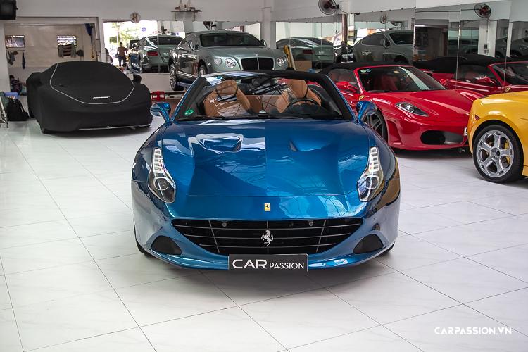 Ngắm siêu xe Ferrari California T 'hàng hiếm' tại Việt Nam