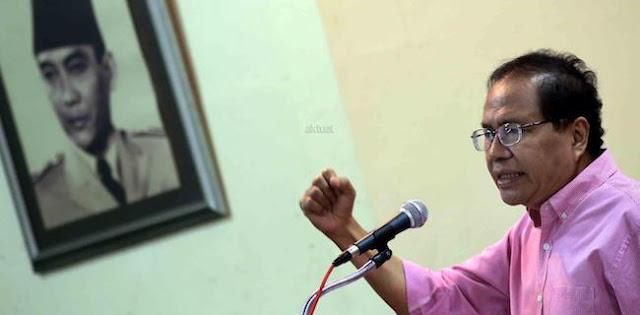 Rizal Ramli: Salut, Akhirnya Menko Darmin Mengaku