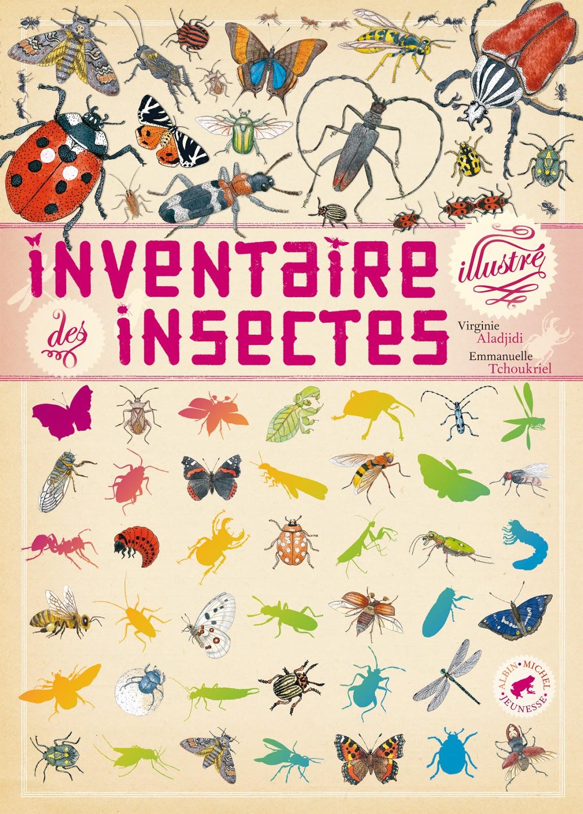 le blog d 39 albin michel jeunesse insectes. Black Bedroom Furniture Sets. Home Design Ideas
