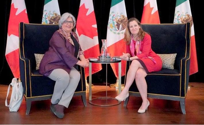 Canadá es el tercer país inversionista en México después de Estados Unidos y España. (Foto: SE)