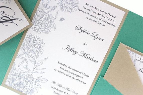 Tiffany Blue Wedding Invitations Kits: Unxia: Wedding Invitations Tiffany Blue White And Silver