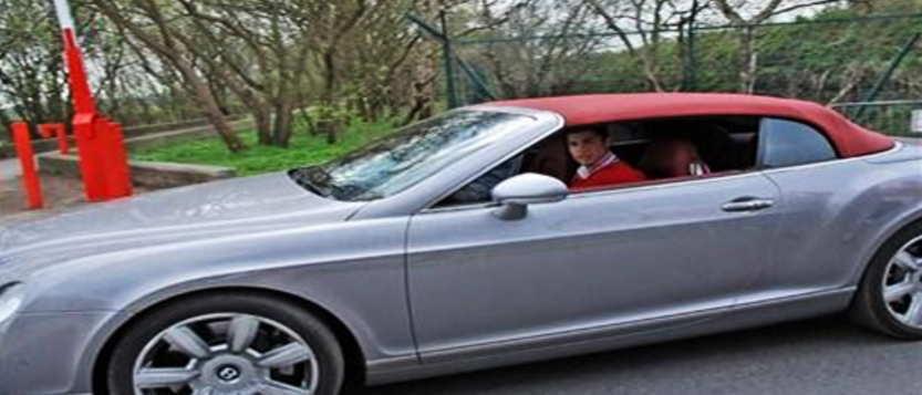 Mobil Bentley Continental GTC Cristiano Ronaldo