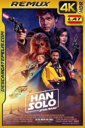 Han Solo: Una historia de Star Wars (2018) 4k BDRemux HDR Latino – Ingles
