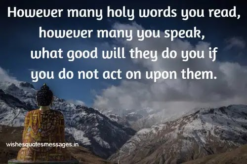 Buddha Quotes on Piece
