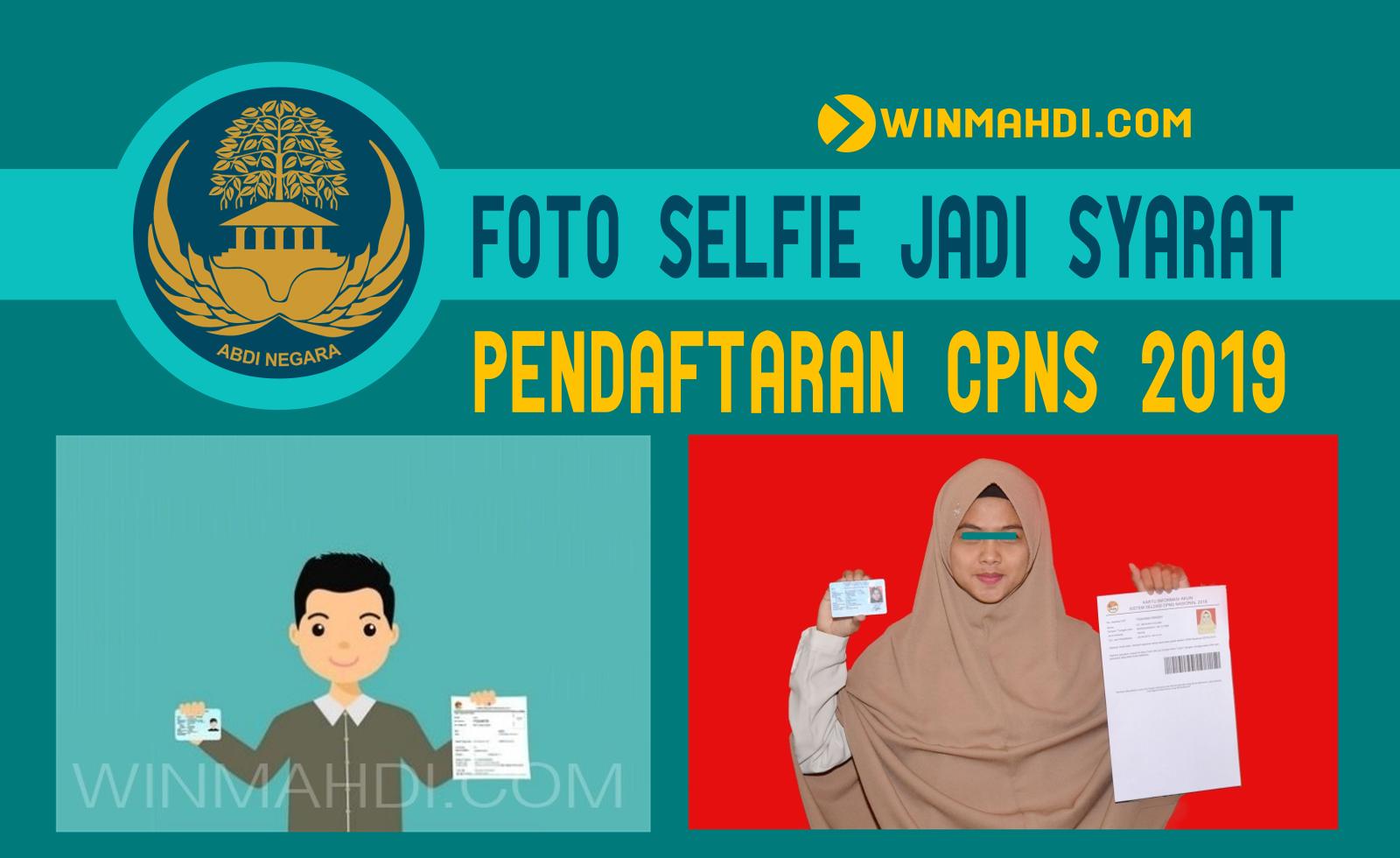 foto selfie cpns 2019