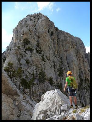 Terminada la vía Valle de Tena, observando el descenso