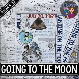 https://www.teacherspayteachers.com/Product/Apollo-11-Moon-Landing-Doodle-Notes-4705631
