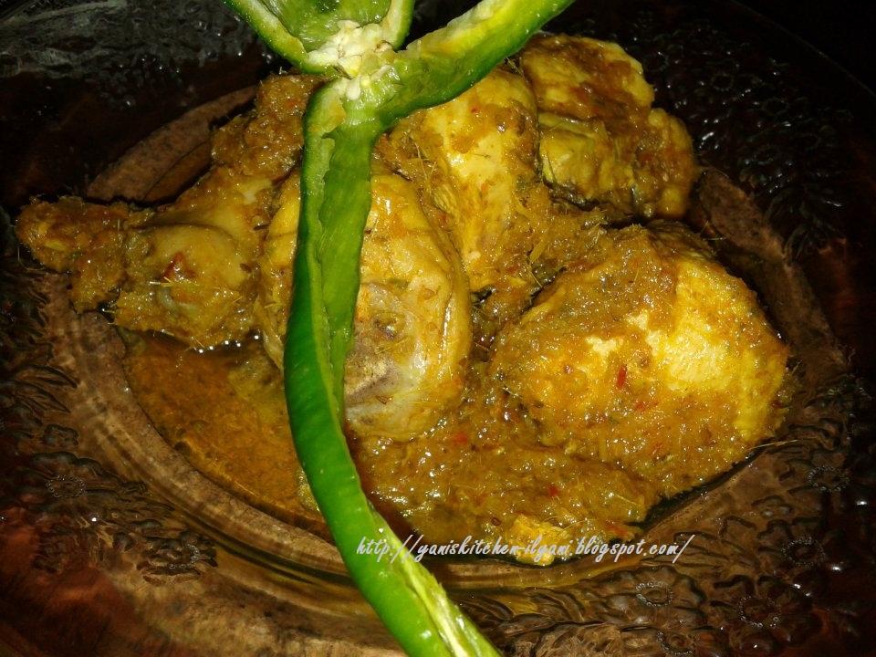 yani's kitchen: Ayam Masak Ungkep