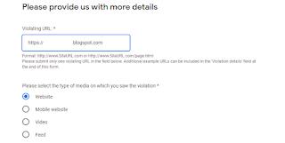 Cara Melaporkan Akun Google Adsense Blog Copas