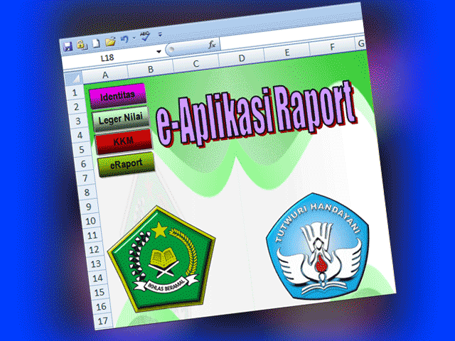 Download File E-Aplikasi Raport Format Excel