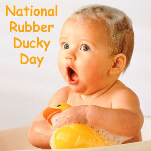 National Rubber Ducky Day Wishes