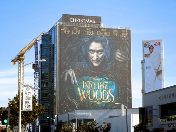 Giant Into the Woods movie billboard