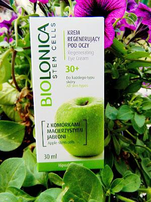 Recenzja: Krem regenerujący pod oczy z komórkami macierzystymi jabłoni- Biolonica