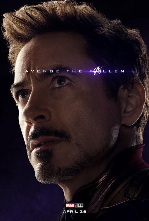 Avengers Endgame Tony Stark poster