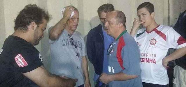 Final da Série C entre Boa e Guarani teve estádio depredado, cocaína, brigas, vandalismo e torcedor com facada nas costas