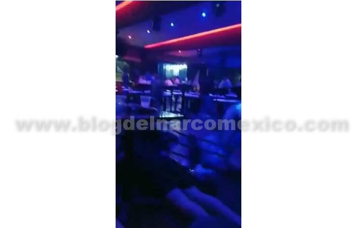 Filtran el video del ataque de Sicarios al Bar Amnesia en Fresnillo; Zacatecas
