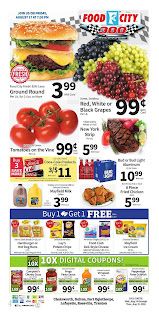 Food City Weekly Ad August 15 - 21, 2018