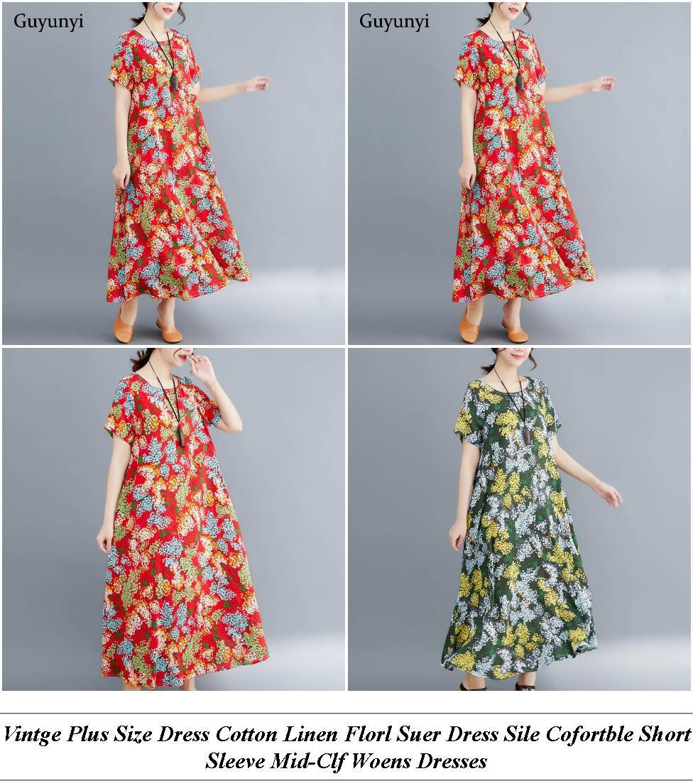 Semi Formal Dresses - Clearance Clothing Sale - Polka Dot Dress - Cheap Clothes Uk