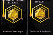 Madu Hitam Herbal 69 Extra Power Plus Propolis dan Doa Ruqyah