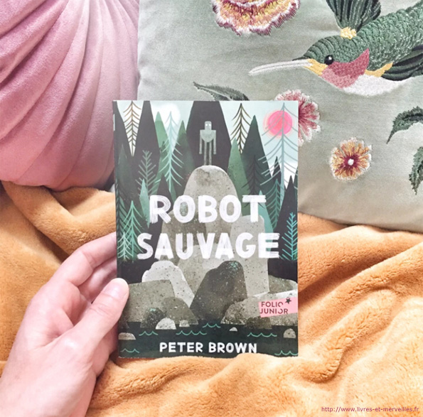 Robot sauvage de Peter Brown