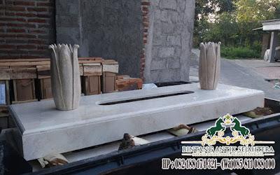 Model - Model Makam Trap Satu Marmer