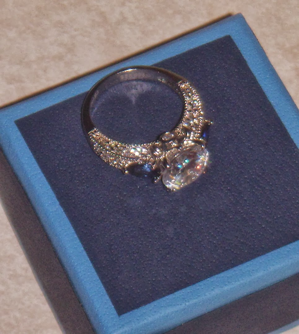 Mommie of 2: Bella Luce Ring from JTV.com Review