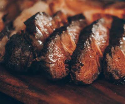 Stir-Fry Turmeric Goat Meat.