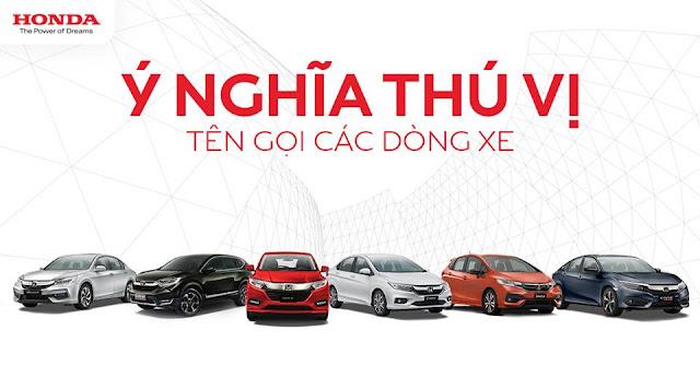Ý nghĩa thú vị từ tên gọi của các dòng xe Honda như CR-V và HR-V. CR-V là viết tắt của từ gì? HR-V là viết tắt?