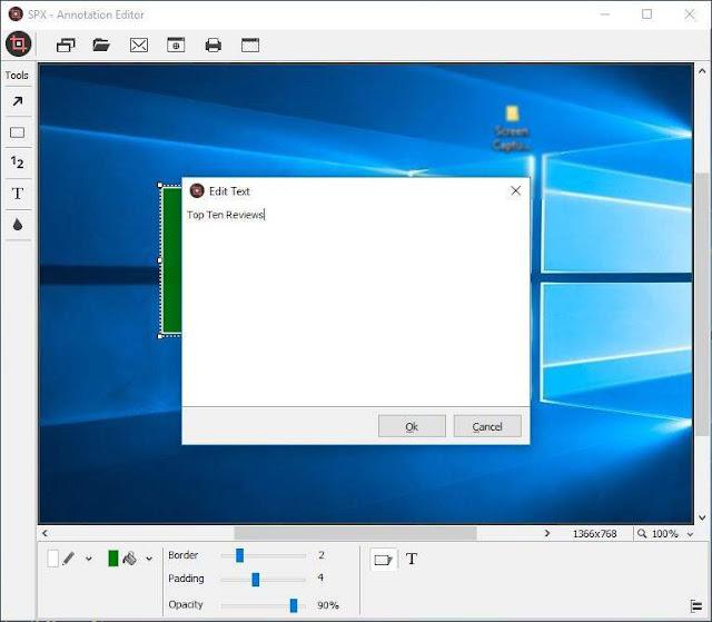 Screenshot SPX Instant Screen Capture 7.0 Full Version