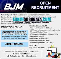 Loker Surabaya di Berkat Jaya Motor Oktober 2020