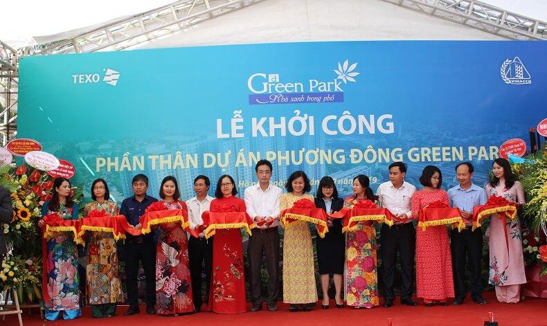 Cắt băng khánh thành khởi công dự án PD Green Park