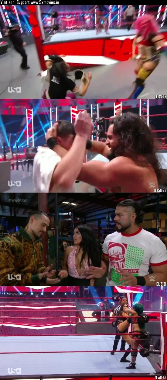 WWE Monday Night Raw 06 July 2020 HDTV 720p 480p 500MB