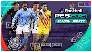 Download PES 2021 PPSSPP Android Camera PS5 Fix Full HD Real Faces & Update Full New Transfer