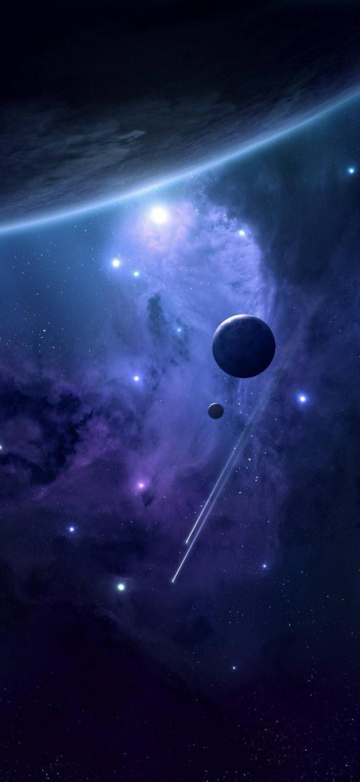 spazio, sfondo scuro